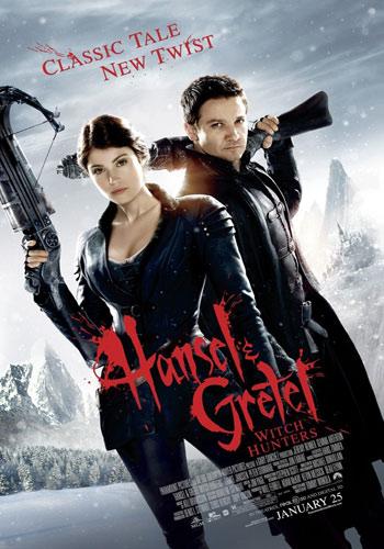 Hansel & Gretel Witch Hunters 2013 Esub Dual Audio Hindi Dubbed 720p BluRay Poster
