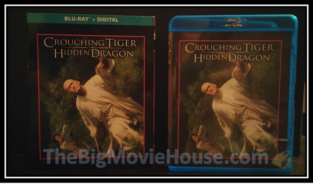 Crouching Tiger blu-ray from Sony