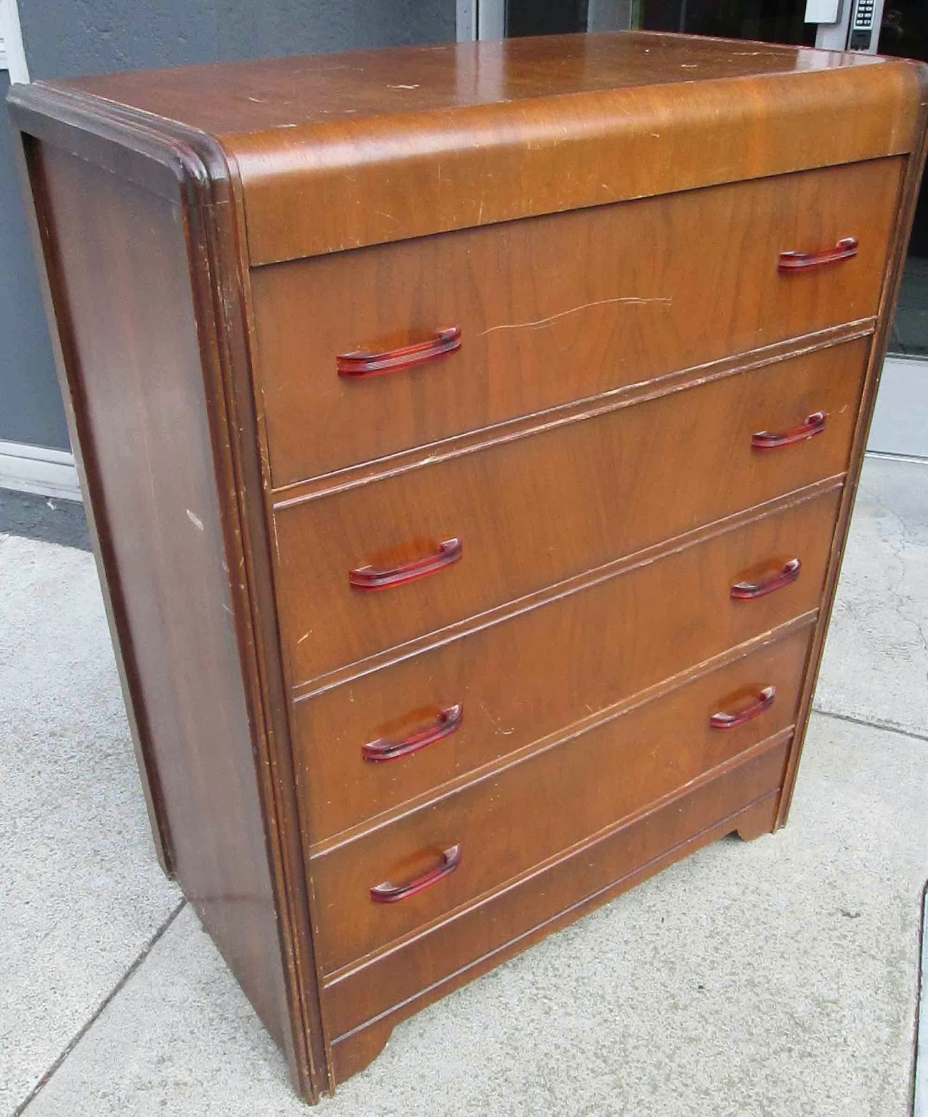 Uhuru Furniture Amp Collectibles Sold Deco Dresser With