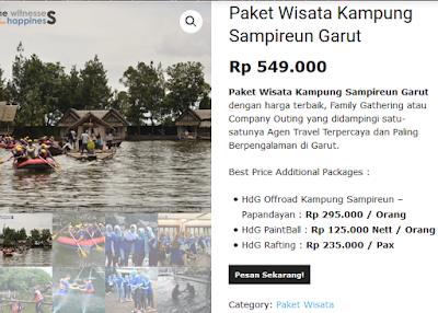 Paket Wisata Kampung Sampireun Garut