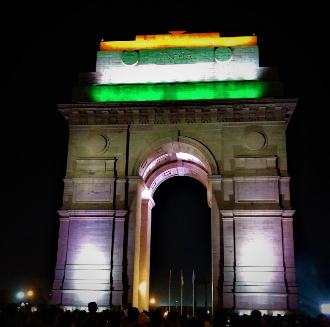 India Gate at Rajpath