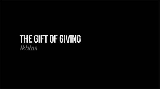 The Gift of Living - Sebuah Iklan Zakat MUIS Singapore
