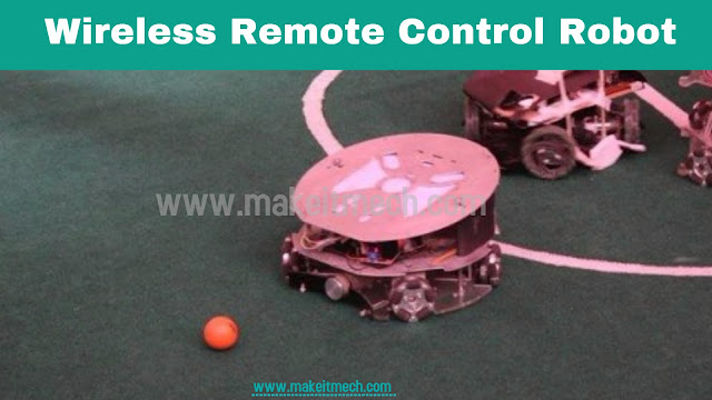Wireless Remote Control soccer robot Robot