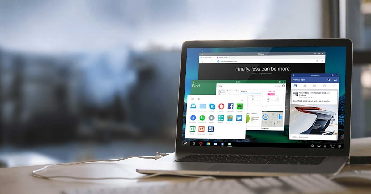 Remix OS with Android