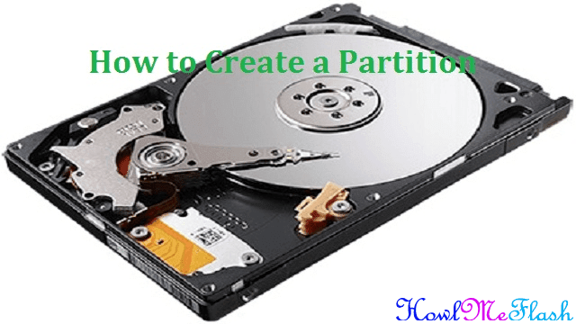 How to Create a Partition