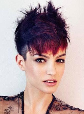 Morenita de pelo corto - 3 part 5