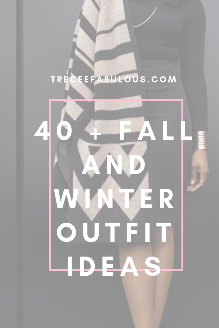 2f77a7e9258 40+ Cute Fall and Winter Outfit Ideas - Treceefabulous