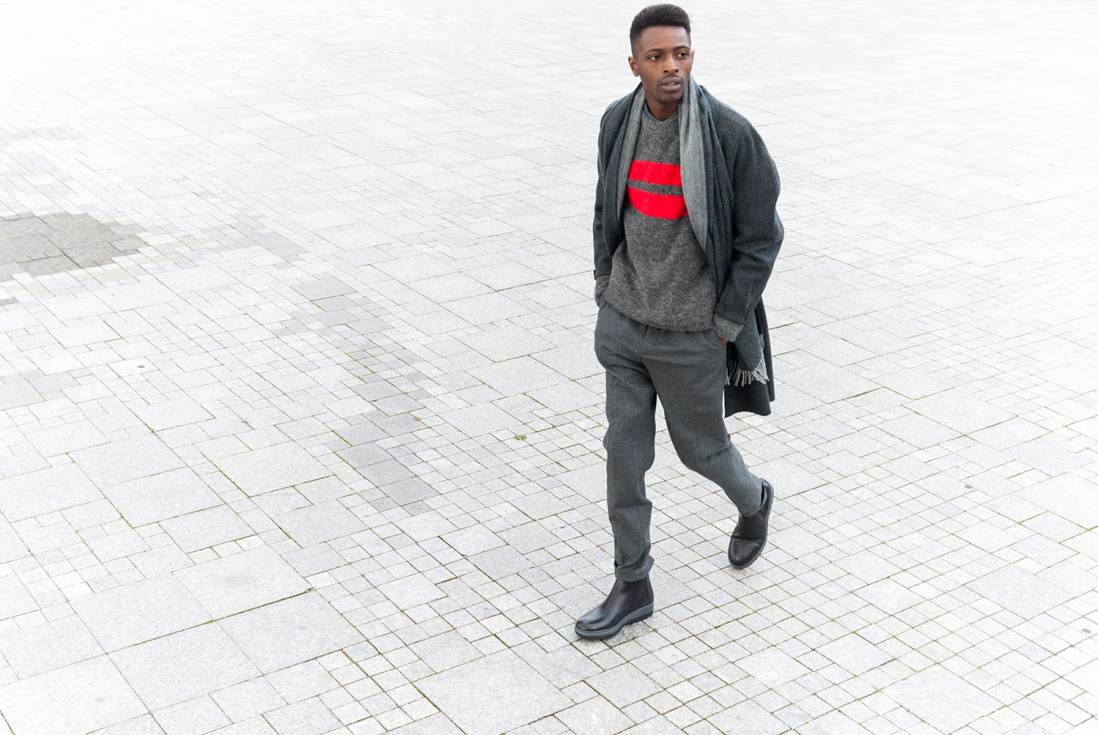 Jonathan Zegbe founder of menswear blog Jon The Gold based in Antwerp.