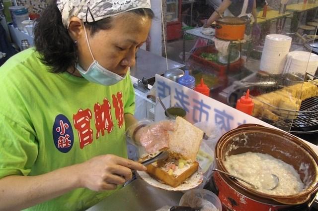 Gua Cai Ban - bánh mì quan tài Taiwan