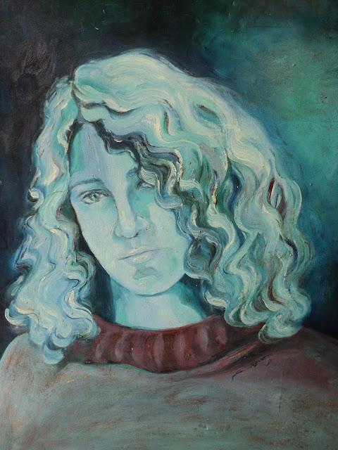 Pintura, mulher