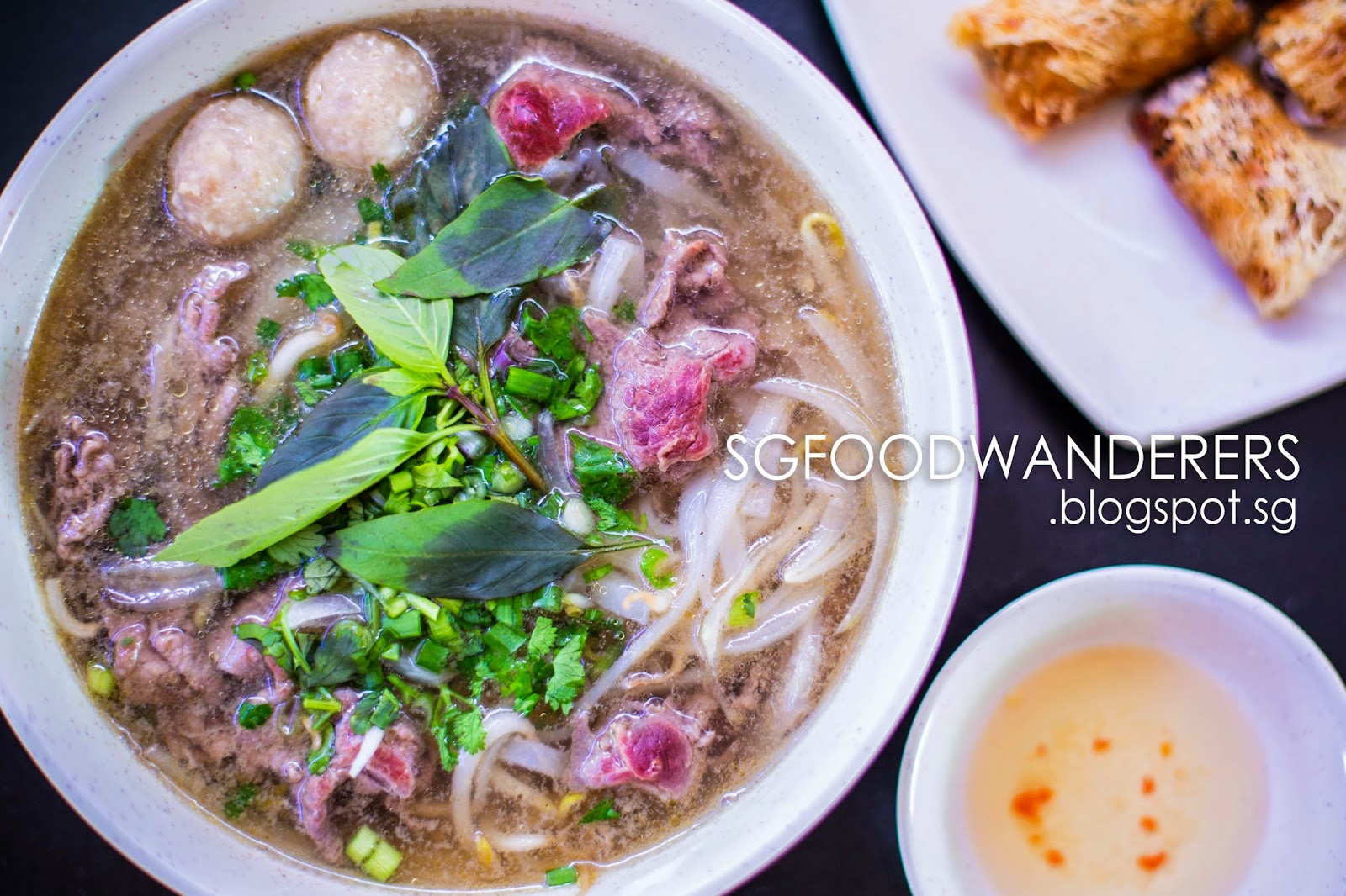 Authentic vietnamese food in singapore huong que thebedokmarketplace f o o d w a n d e r - Authentic vietnamese cuisine ...