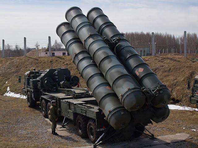 S-400 Triumph Rudal Milik Rusia Paling Canggih