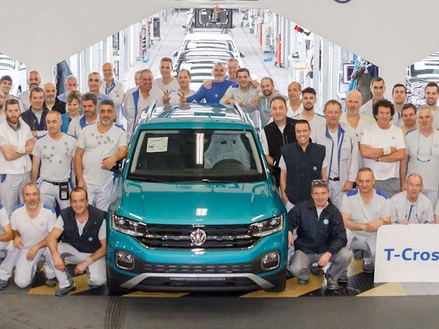 Volkswagen T-Cross - concorrente do Honda HR-V