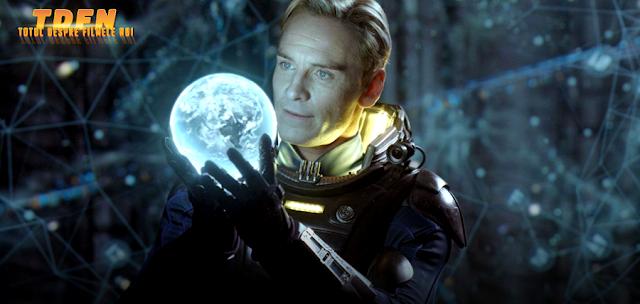 David, androidul misterios, va reveni în continuarea Prometheus 2