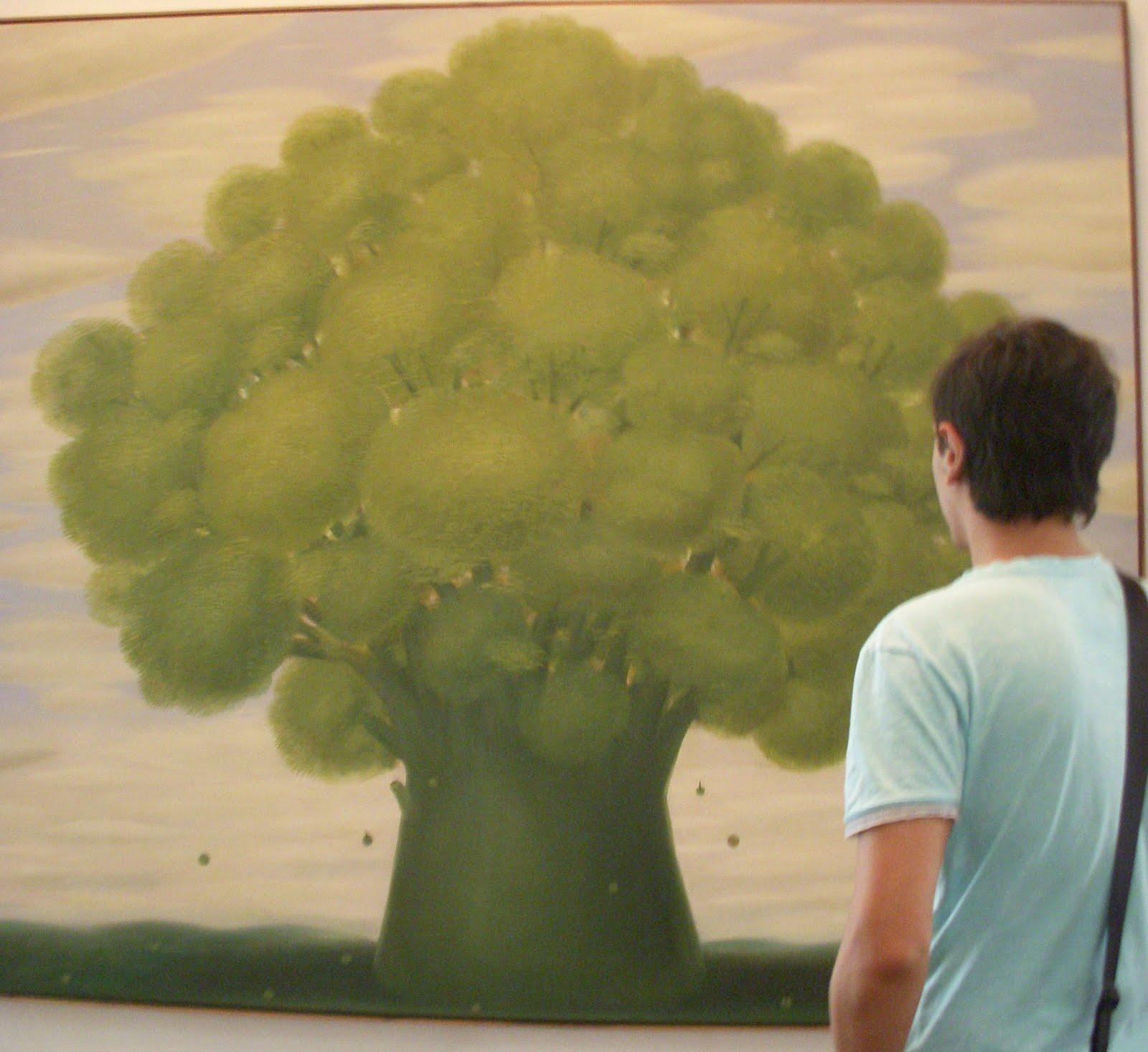 El Clip El árbol Fernando Botero