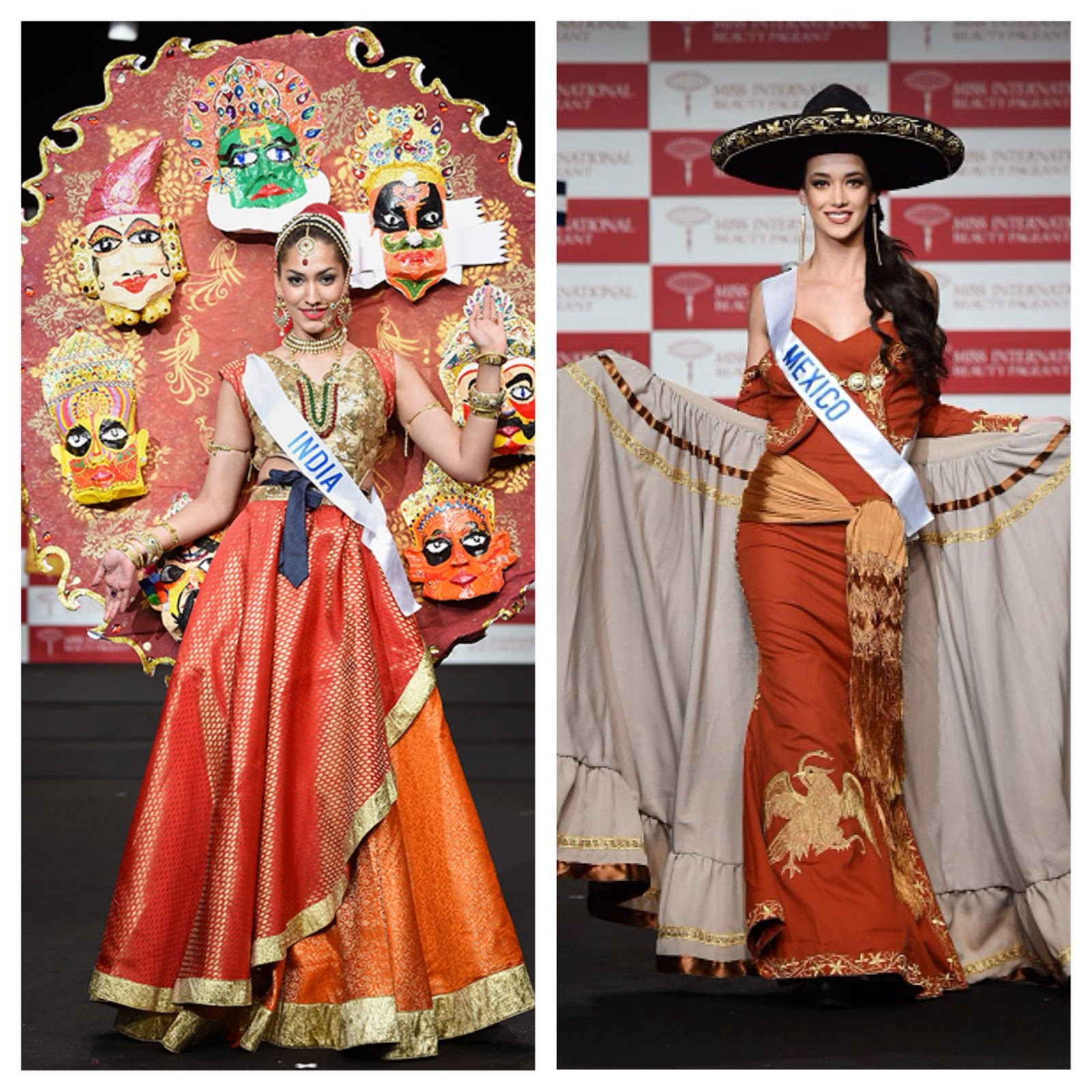 sashes and tiaras miss international 2014 national costume show