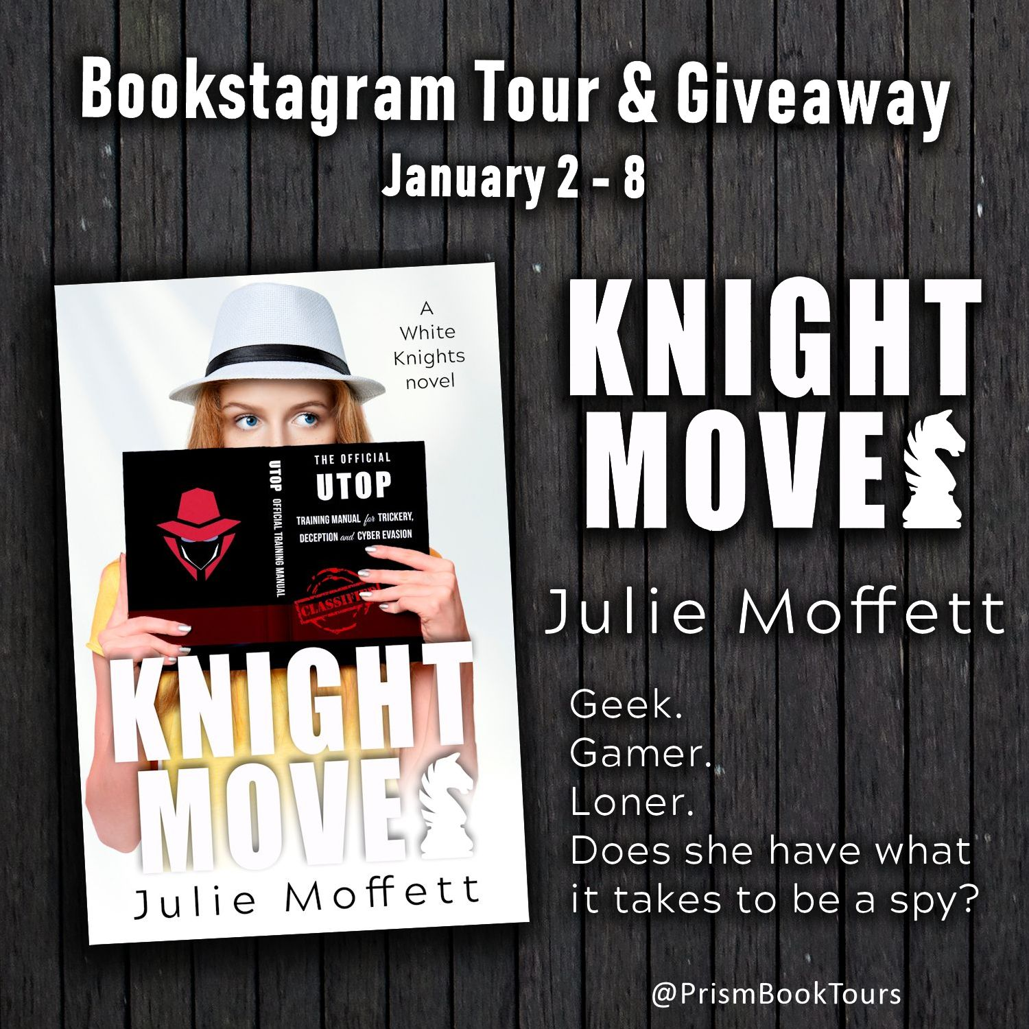 Check out the Bookstagram Tour for KNIGHT MOVES by Julie Moffett!