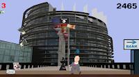 PARTEI Melkt Brüssel Game Tagesgeld
