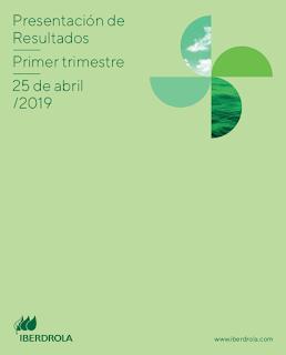 IBERDROLA ( Ibex : IBE ) Resultados Primer Trimestre 2019