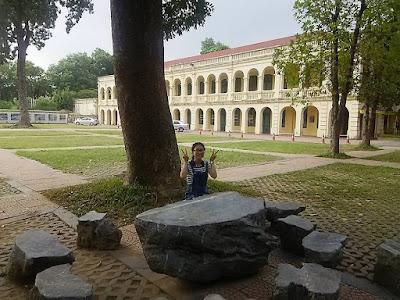 タンロン皇城内の博物館