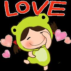 MAY MEI 8-little frog