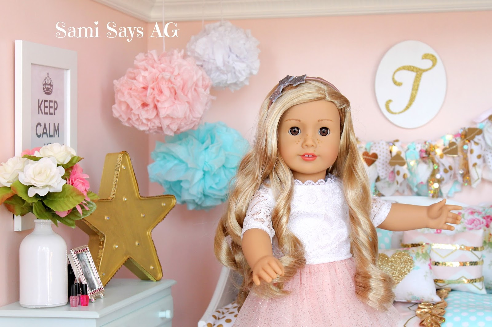 Sami Says Ag American Girl Tenney Grant S Doll House Room