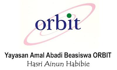 Beasiswa SMA dan S1 Yayasan Orbit Hasri Ainun Habiebie