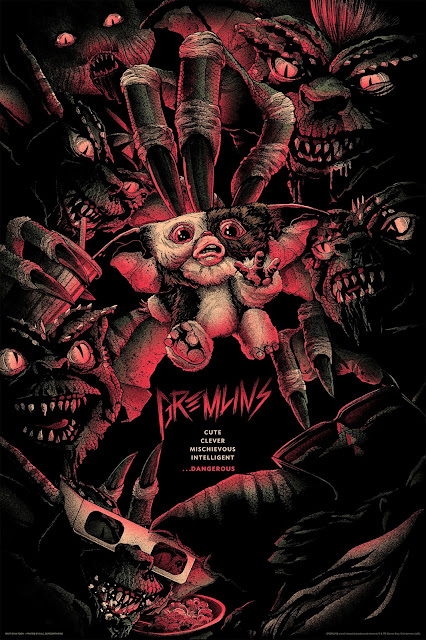 Gremlins Screen Prints by Matt Ryan Tobin x Mondo
