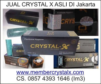 Jual Crystal X Asli Di Jogja, di Surabaya, di Bandung, di Jakarta, dan di Seluruh Indonesia