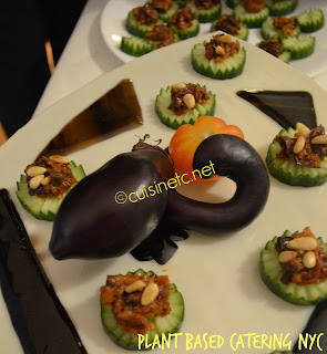 eggplant caponata - gluten free, vegan, low carb, plant based food catering menus