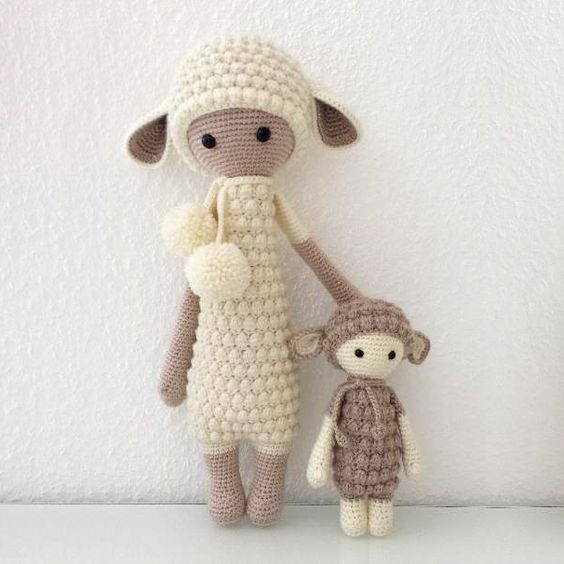 Micro Amigurumi Animal Patterns : Amigurumi Lalylala Mini Lupo-Free Pattern - Amigurumi Free ...