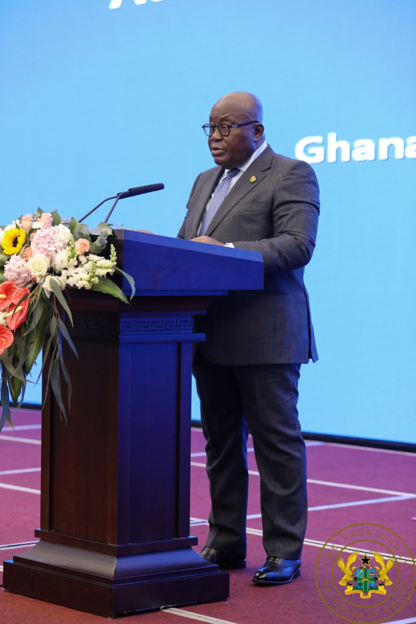 """Your Investments Are Safe & Protected In Ghana"" – President Akufo-Addo To China's Business Community"