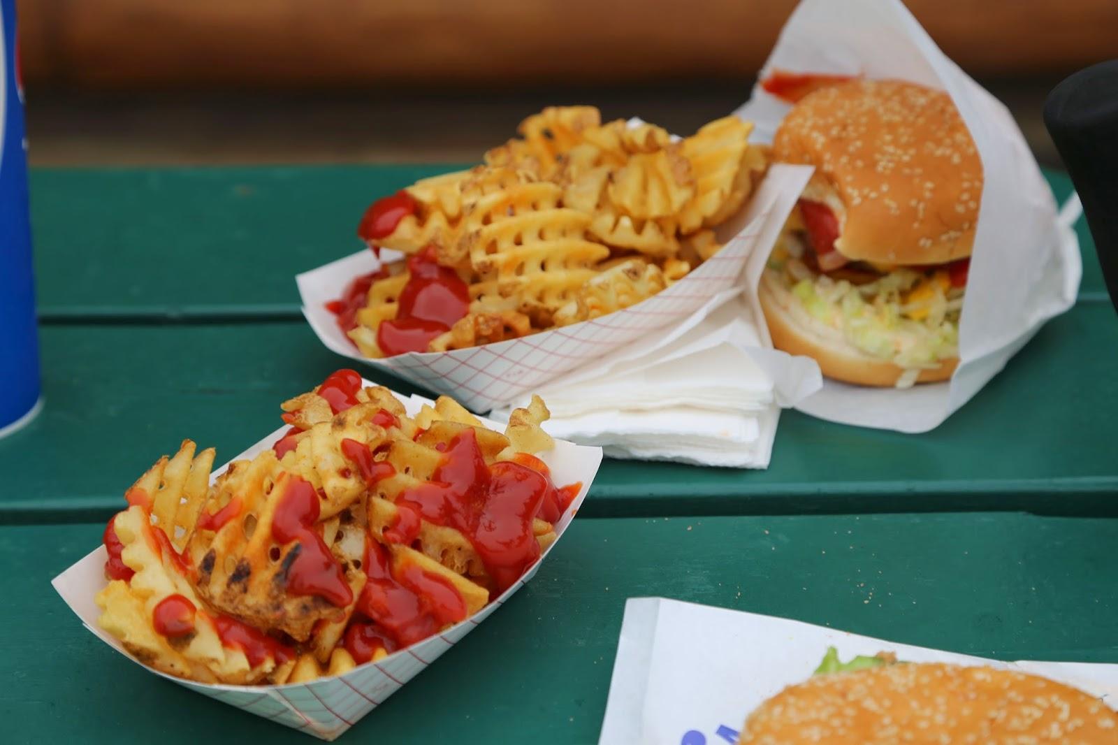 Waffle fries, Alaska State Fair