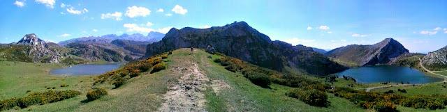 Lagos Enol y Ercina; Picos de Europa; Cordillera Cantábrica; Asturias