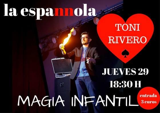 Magia para los más pequeños en La Espannola