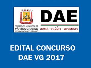 Apostila DAE/VG - Departamento de Água e Esgoto de Várzea Grande