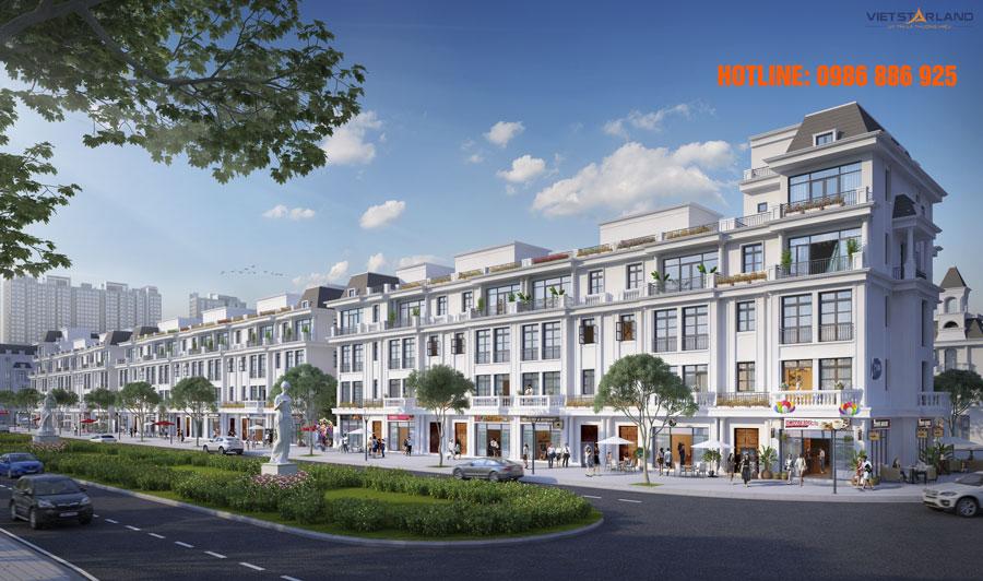 Đợt 1: Mở bán 62 căn shophouse Vinhomes Star City Thanh Hóa