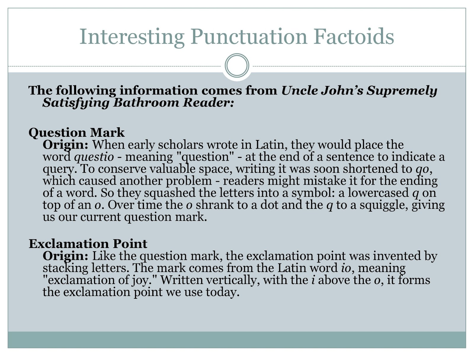 Punctuation In Resumes Writing Center Workshops Punctuation