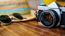 Vintage Camera in 2 Photos
