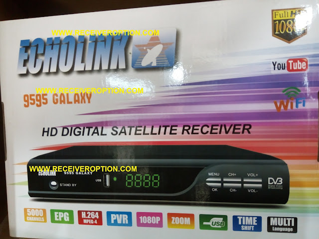HOW TO ENTER BISS KEY IN ECHOLINK 9595 GALAXY HD RECEIVER