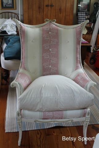 Betsy Speert S Blog How To Make A Down Seat Cushion