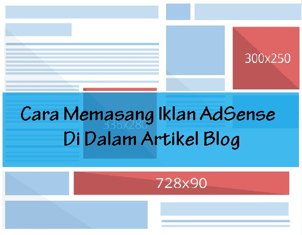 Cara Memasang Iklan AdSense Di Artikel Blog