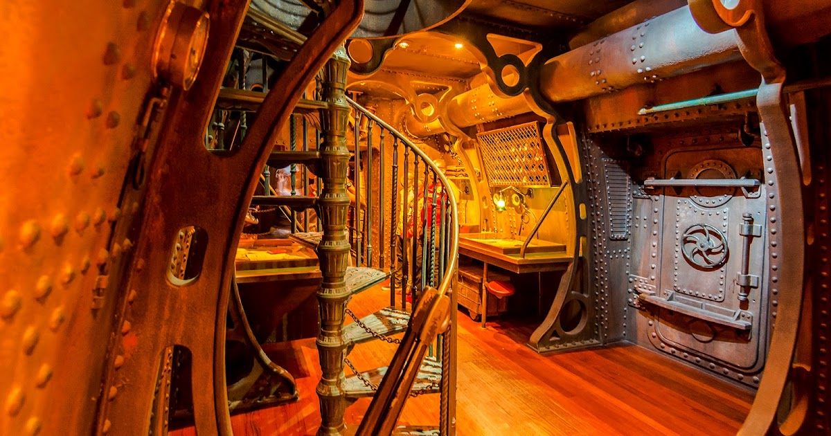 Inside the Nautilus