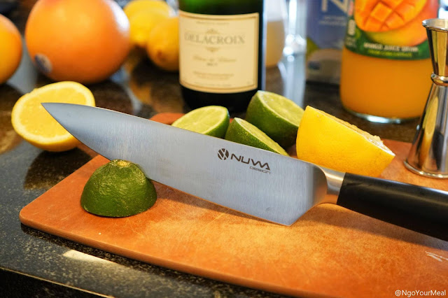 Nuwa Design 8 Inch Chef Knife with High Carbon Stainless Steel Blade