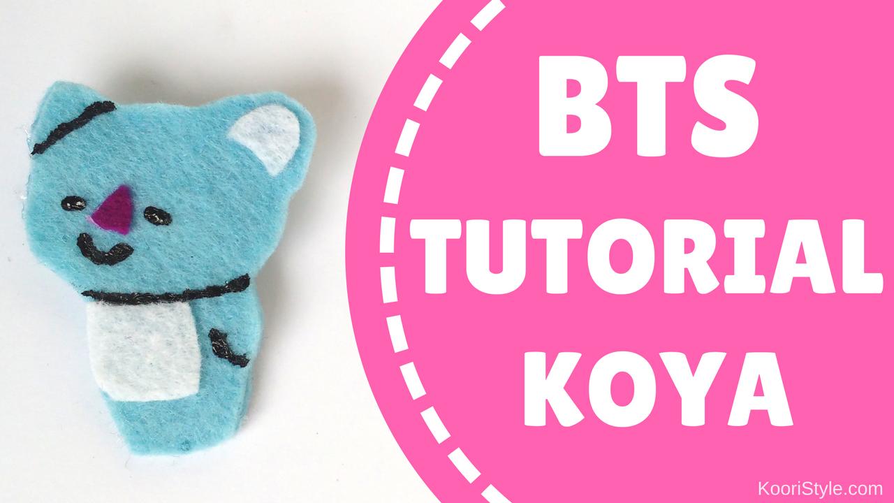 BTS Tutorial: BT21 Koya Pin