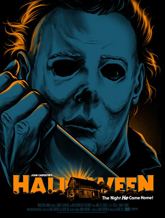 105df1f4 For just $70 you can have the above 18×24 screenprinted poster featuring a  new stylized look at Michael Myers designed by Gary Pullin, as well as the  ...