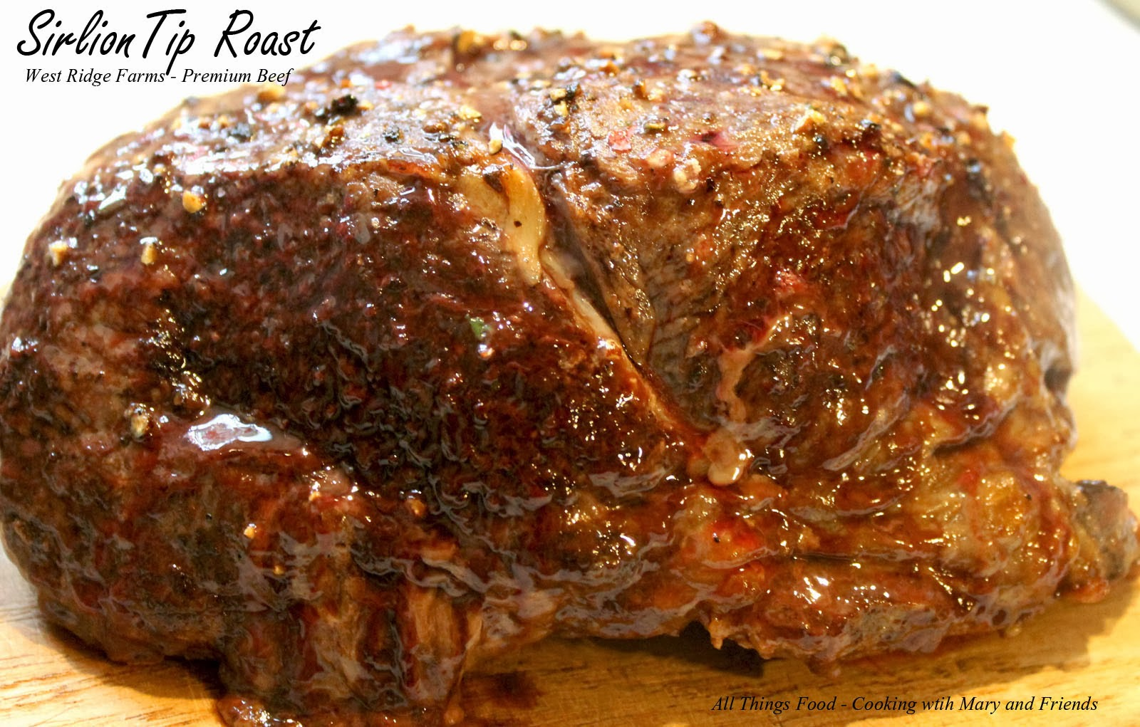 how to cook a roast sirloin of beef