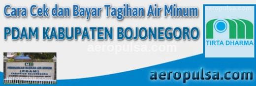 Cara cek dan bayar tagihan rekening PDAM Kabupaten Bojonegoro