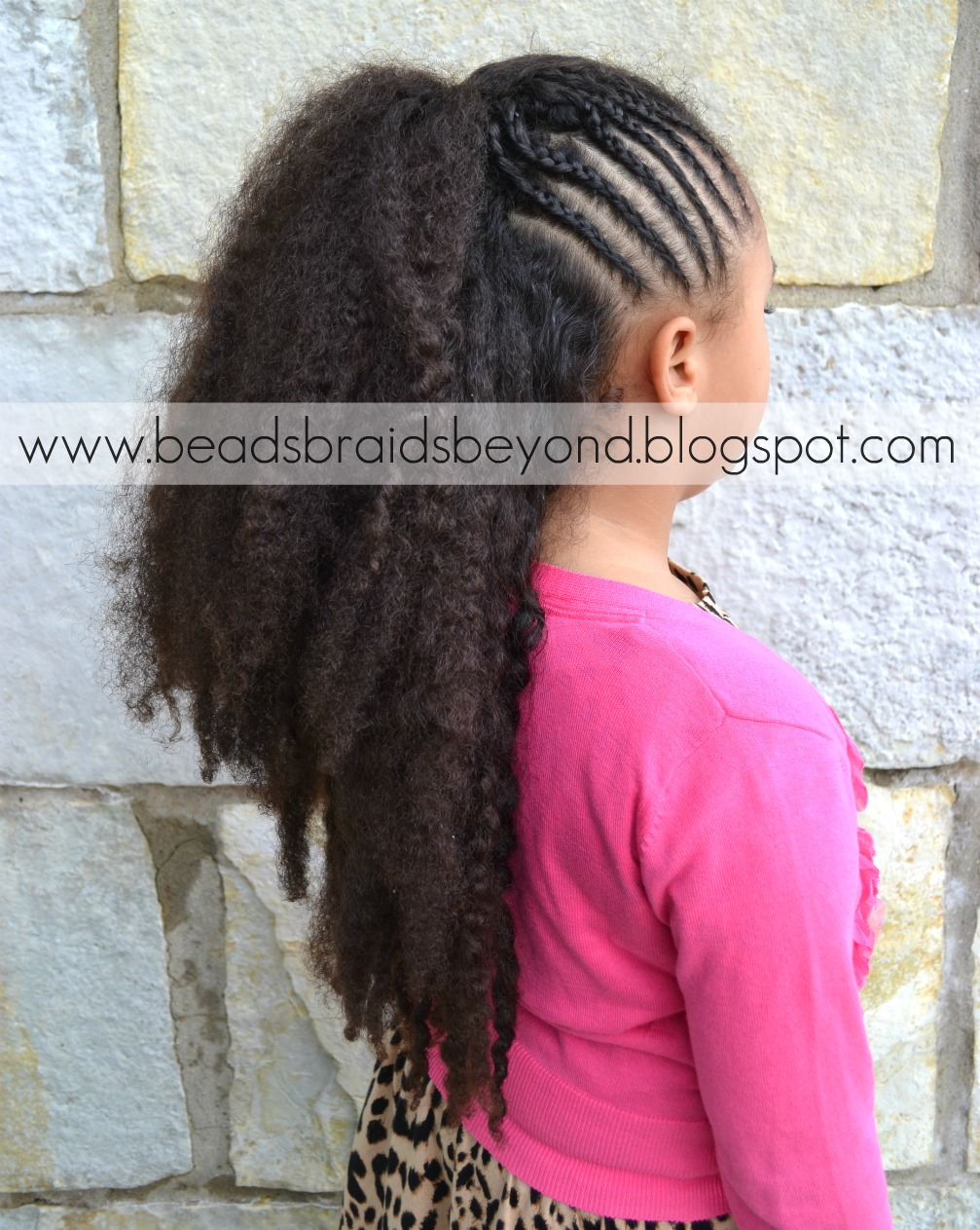 Beads Braids And Beyond Cornrows Amp Pompadour Natural