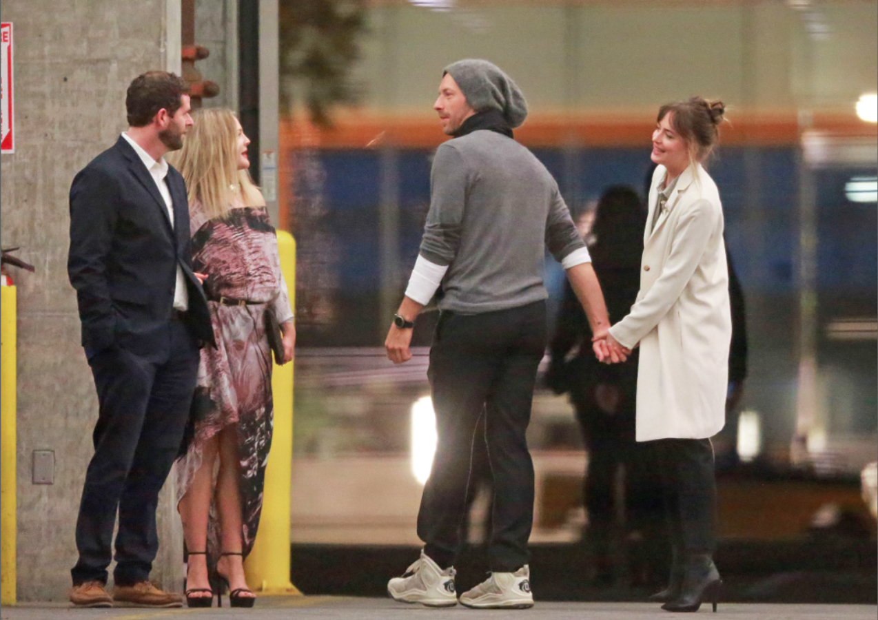 Fifty Shades Updates: PHOTOS: Dakota Johnson and Chris ...